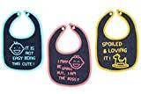 #9: Nahshon Baby NB004 Bibs (Pack of 3) (Color May Vary)