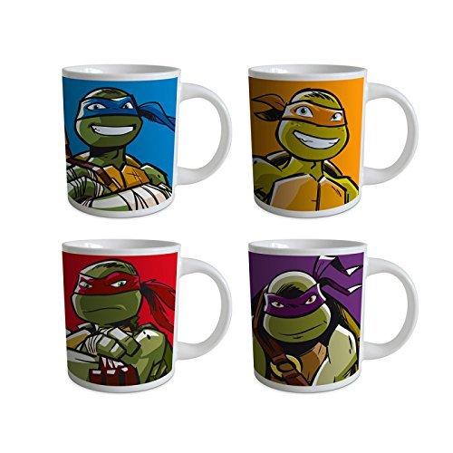 Coffret cadeau 4 mugs TORTUES NINJA