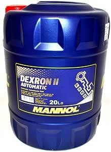 20 Liter Mannol Automatic Atf Dexron Ii GetriebeÖl Garten
