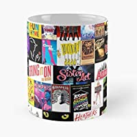 Musicals Musical Theatre Music Broadway Jacket Present Birthday Friend Xmas Christmas Cats - Best 11 Ounce Cerámica Coffee Mug Gift