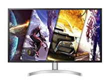 "LG 32UL500 Monitor 32"" UltraHD 4K LED VA HDR, 3840 x 2160, 4 ms, Radeon FreeSync 60 Hz, HDMI 2.0, HDCP 2.2, Display Port 1.2, Speaker Stereo 10 W, Multitasking, Uscita Audio, Flicker Safe, Bianco"