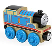 Thomas & Friends Locomotora De Madera Tren De Juguete,, 0 (Mattel FHM16)