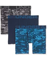 Under Armour Charged Cotton 6in 3 Pack Novelty Caleçon Homme
