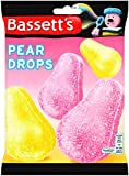 Bassetts Pear Drops Bag 200 g (Pack of 6)
