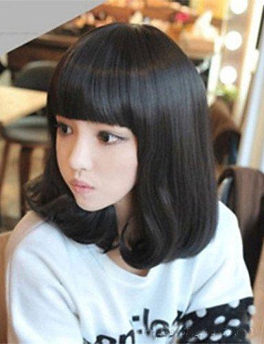 Mode Perücken WIGSTYLE Japan und Südkorea Explosion Modelle der hochwertigen Hochtemperatur-Draht Farb langen (Perücke Eine Styling Synthetische)
