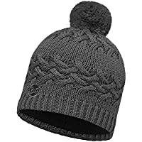 Buff Set Knitted & Polar Winter Hat + UP® Ultra Power Tube | Polartec Fleece Knitted Slouchy Fit | Vintage | Sports | | Snowboarding Hat Warm Beanie Ski Hat | Winter Hat