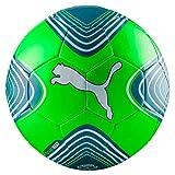 PUMA Future Heat Ball, Green Gecko White/Deep Lagoon, 3