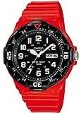 Casio Collection MRW-200HC-4BVEF Orologio Analogico da Polso da Unisex, Resina, Rosso