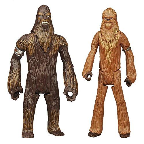 Star Wars Mission Series - Wullffwarro and Wookiee Warrior Figures