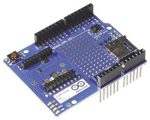 Arduino Shield SD inalámbrico Mbps