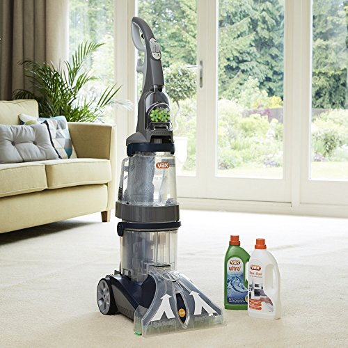 vax dual v carpet washer instructions