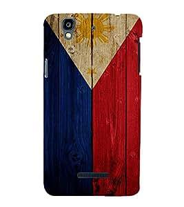 Fuson Premium Back Case Cover Flag design With Multi Background Degined For YU Yureka::Micromax Yureka AO5510