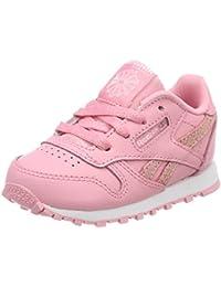 Reebok Bs7942, Sneaker Unisex �C Bimbi 0-24, Bianco/Rosa (White/Charming rosa), 24 EU