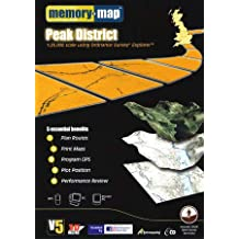 Memory-Map V5 Peak District OS 1:25,000