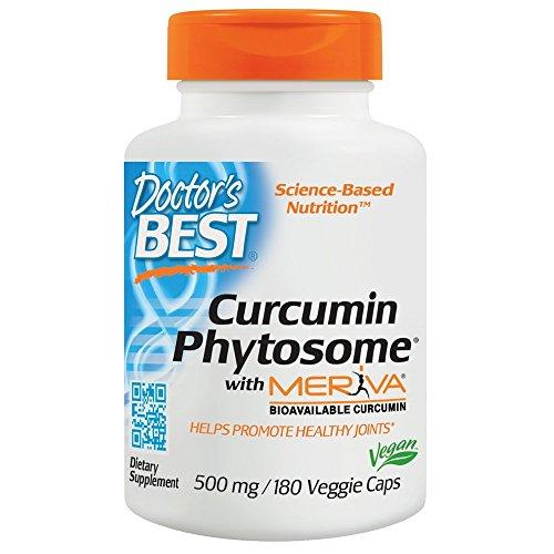 Doctor's Best - Curcumin Phytosome que ofrece el magnesio 500 de Meriva. - 180cápsulas vegetarianas