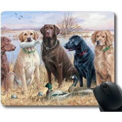 Gaming Mouse Pads, Boxer-Dog niedliches Tier, Präzisionsnaht, strapazierfähiges Mouse Pad