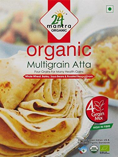 24 Mantra Organic Multigrain Atta, 500g