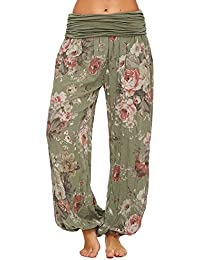 JillyMode Leichte Haremshose OneSize in viele Muster A1077