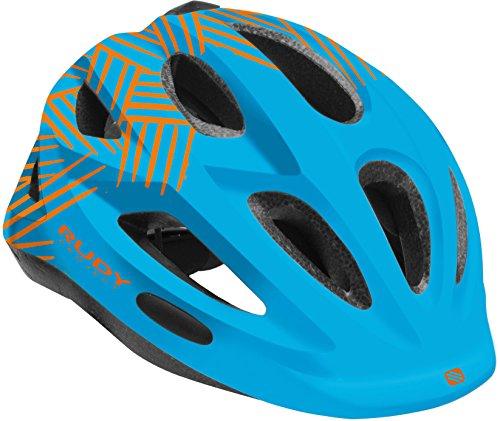 Rudy Project Rocky Helmet Blue-Orange Shiny 2018 Fahrradhelm