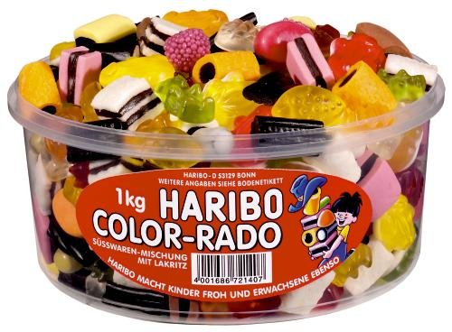 Haribo Color-Rado, 6er Pack (6 x 1 kg Dose)