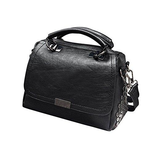 Mode Frauen Leder Umhängetasche Schultertasche Handtasche YunYoud design damenhandtaschen marken messenger neu arbeitstasche henkeltasche echtleder stofftaschen