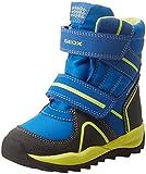 Geox Jungen J Orizont Boy ABX B Schneestiefel, Blau (Royal/Lime C4344), 24 EU