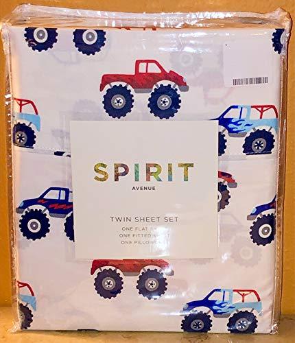 Spirit Avenue Bettwäsche-Set Monster Trucks, Doppelgröße -