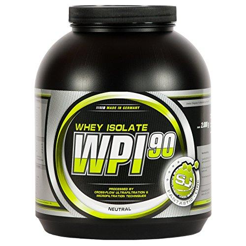 S.U. WPI-90, 100% Whey Isolate, neutral, 2000g