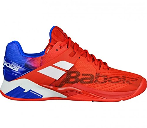 Babolat Propulse Fury Clay Men, taille:43, couleur:bright red