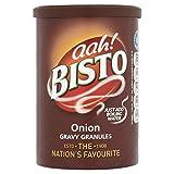 Bisto Gravy Granules Onion (170g) - Packung mit 2