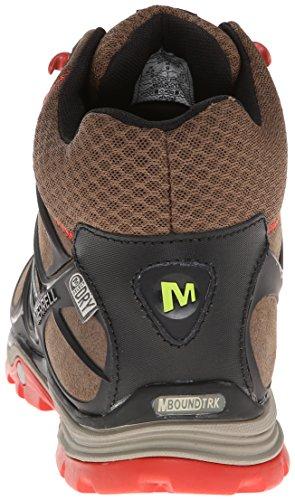 Merrell Verterra Mid Waterproof, Herren Trekking- & Wanderstiefel Stone / Lime