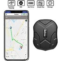 TKSTAR GPS Imanes Mini OBD Cableado Monitor para Coche Furgoneta Motocicleta Niños OAP Fleet Taxi - Magnetic