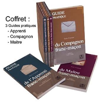 COFFRET DU FRANC MACON - APPRENTI / COMPAGNON / MAITRE