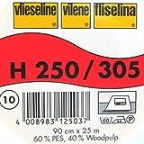 0,50 m stabile Einlage H250 von Freudenberg 90 cm breit weiss