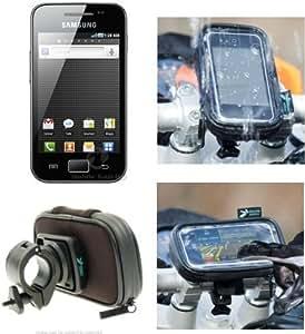 Support Sur Vélo Et Imperméable À L'eau Coque correspond au Samsung Galaxy Ace S5830 Smartphone (sku 9430)
