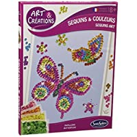 """Sentosphère 3902010 """"Mosaic Picture Butterfly"""" Craft Set"""