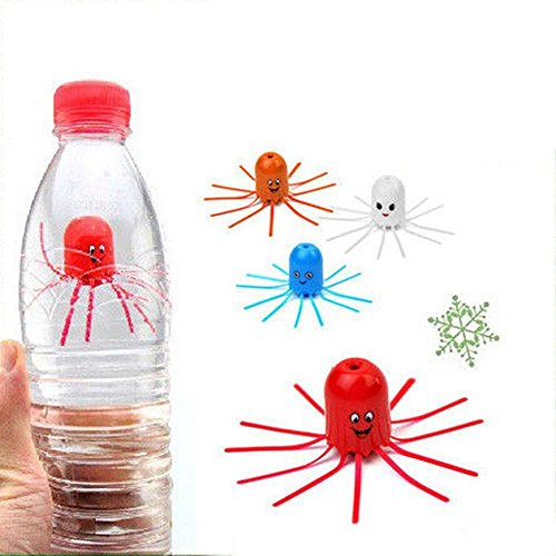 Newin Star Magische Qualle Toys Schwimmen schwimmt Educational Wissenschaft Spielzeug für Kinder in Pool Badewanne Wasser Tank Aquarium (zufällige)