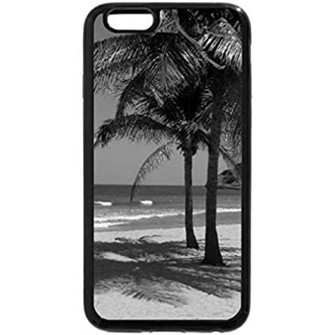 iPhone 6S Case, iPhone 6 Case (Black & White) - Shady Spot.