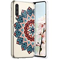 Robinsoni Funda Compatible con Huawei P30 Funda Silicona Huawei P30 Funda Transparente TPU Carcasa Gel Goma Caso Ligera Suave Case Flexible Ultra Suave Caso Claridad Funda para Huawei P30