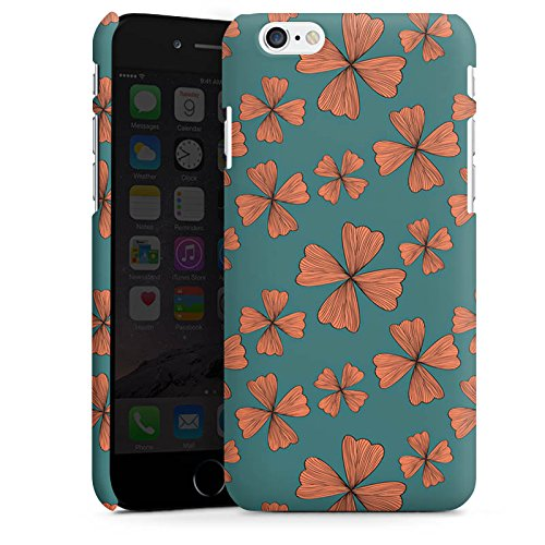 Apple iPhone X Silikon Hülle Case Schutzhülle Blumen Muster Flower Premium Case matt