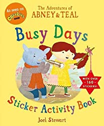 The Adventures of Abney & Teal: Busy Days Sticker Activity Book (The Adventures of Abney and Teal)