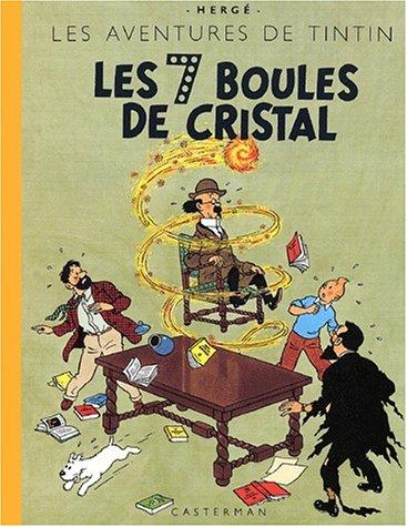 Les Aventures de Tintin : Les 7 Boules de cristal : Edition fac-similé en couleurs par Hergé