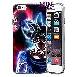 MIM Global Dragon Ball Z Super GT Etuis Coque Case Cover Compatible pour Tous iPhone (iPhone XS Max, J&G)
