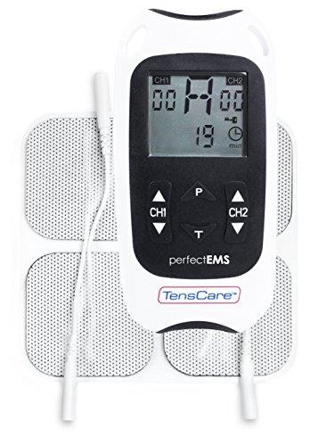 TensCare Perfect EMS Appareil de Musculation/Soulagement de la Douleu