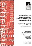 Berufseinstieg und Berufserfolg junger Rechtsanwältinnen und Rechtsanwälte 2010: Ergebnisse der Folgestudie im Auftrag der Selbsthilfe der Rechtsanwälte e. V.