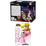 New Nintendo 3DS - Konsole, weiß inkl. New Style Boutique 2 + Zierblende + amiibo SuperMario Peach