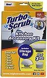 Turbo Scrub kit d'accessoires de cuisine, Blanc
