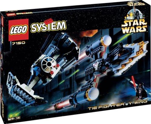 LEGO 7150 Star Wars Y-Wing & Tie-Fighter ()
