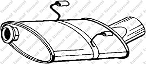 Bosal 190-317 Silencieux arrière