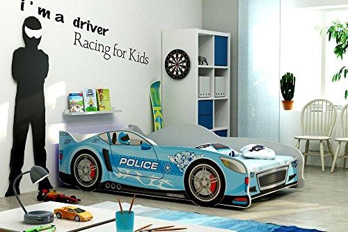 Letto A Forma Di Automobile : Letto singolo a forma di macchina cars160x80 lettino per bambini e